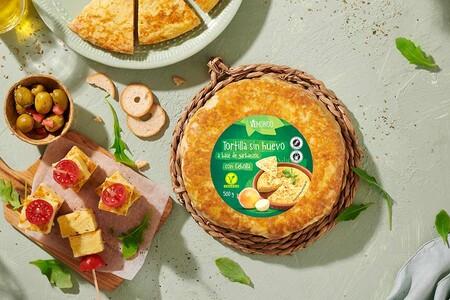 tortilla de patatas vegana lidl
