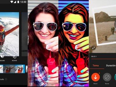 Aplicaciones de vídeo para Android: cámara lenta y editores con efectos