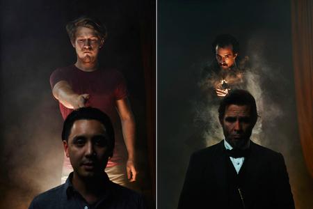 Tras las cortinas de la foto fija de 'Killing Lincoln', con Joey L y National Geographic