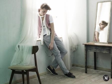 He by Mango, colección Primavera-Verano 2009, calzado