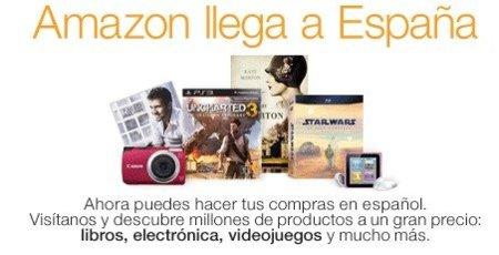 Amazon España es real pero se deja el Kindle en el camino