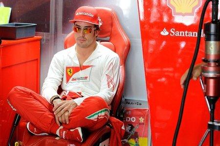 Fernando Alonso se mantiene optimista sobre la competitividad del Ferrari en Corea