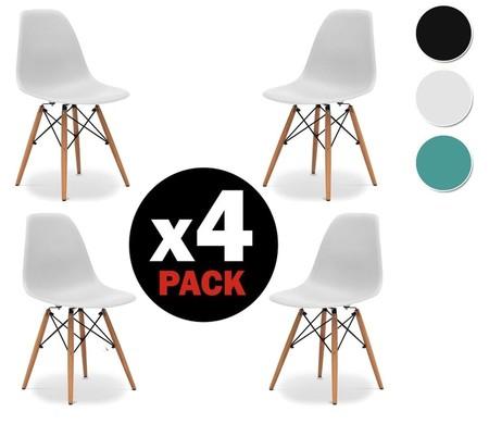 amazon pack 4 sillas eames