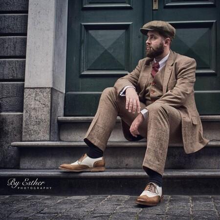 El mejor street-style de la semana adopta el traje café como armadura ideal para el otoño