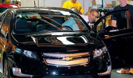 Obama Chevrolet Volt 10