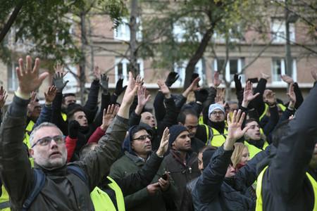 Taxistas Manifestacion