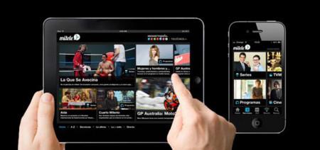 Mitele, la aplicación de Mediaset