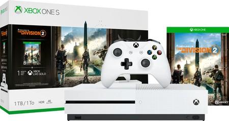 Amazon Gaming Week: Xbox One S de 1TB + The Division 2 por 199 euros y envío gratis
