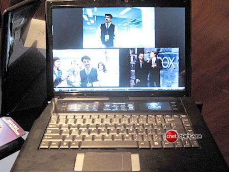 Tangent Bay, múltiples pantallas en un portátil