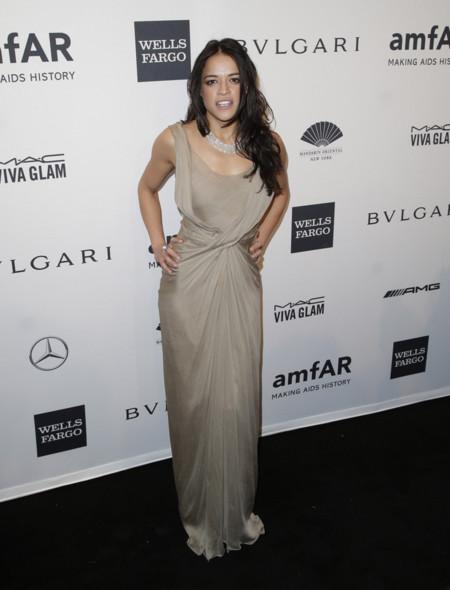 Michelle Rodriguez amfAR 2014