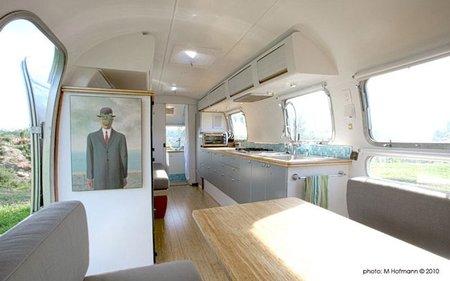 Casas poco convencionales - caravana - interior 1