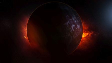 """Este planeta no sólo tiene un lado oscuro, los tiene todos: WASP-12b, un planeta caliente y """"negro como el asfalto"""""""