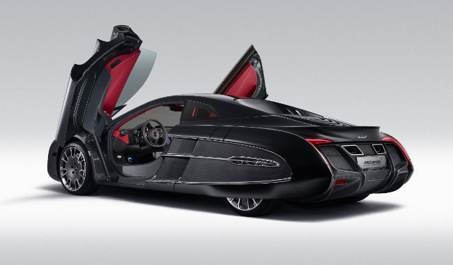 McLaren X1 Concept, apertura de puertas