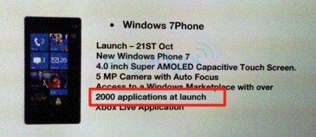 ¿Tendremos Windows Phone 7 el 21 de octubre de la mano de Samsung?