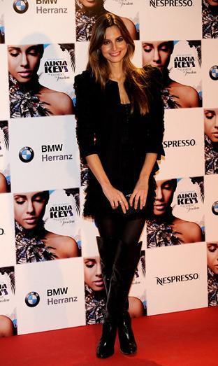 Las famosas en el concierto de Alicia Keys en Madrid