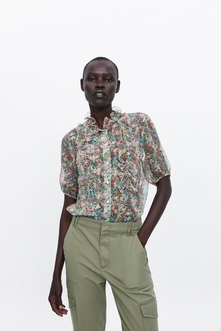 Zara Estampado Floral 13