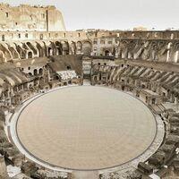 El Coliseo Romano por fin tendrá arena: la van a restaurar usando un peculiar sistema de suelo retráctil