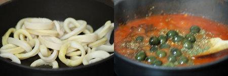 Hacer calamares con tomate