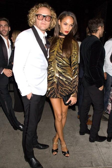 Después de la Gala del Met ¡siguió la fiesta! (y Rihanna se puso algo más comodo)