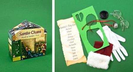 Navidad: Santa Clues, un kit que prueba la presencia de Papá Noel
