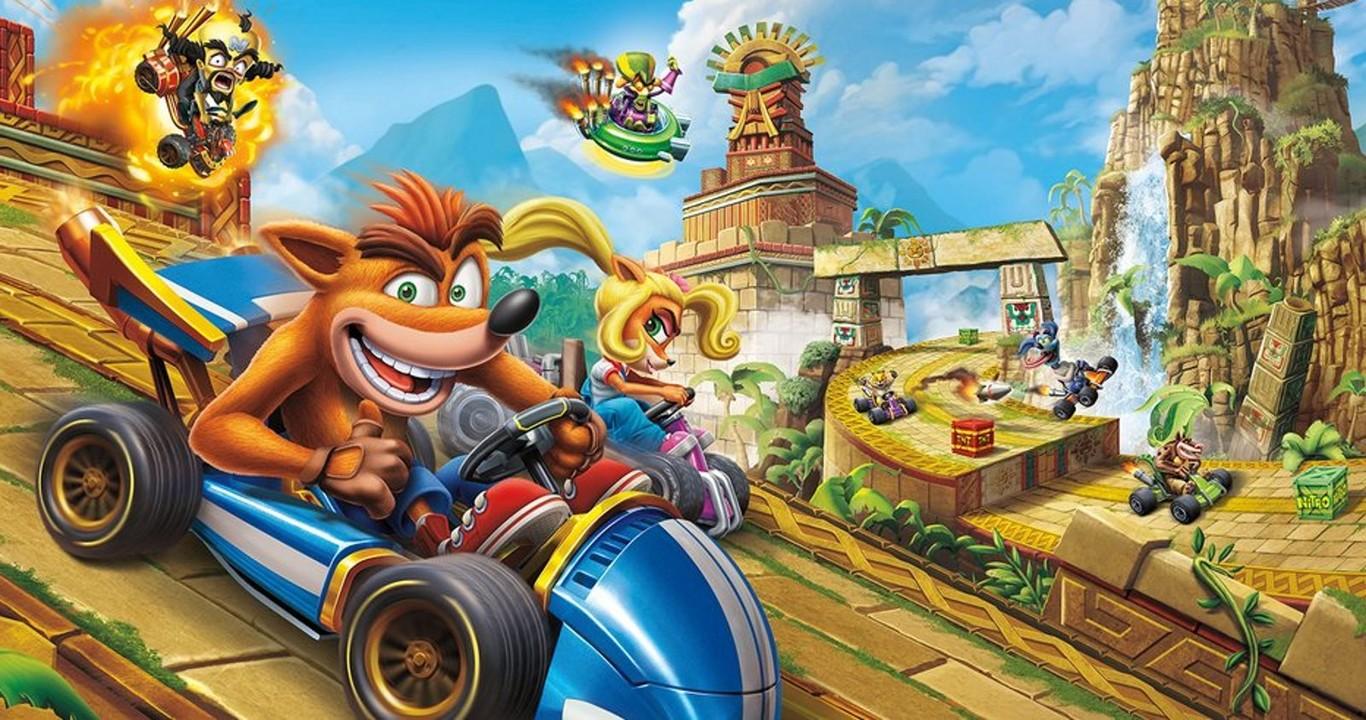 Juegos Similares A Mario Kart Ordenados De Manera Cronológica