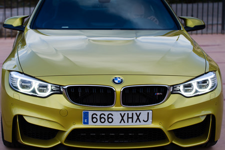 Frontal BMW M4. Foto: Chema Sanmoran