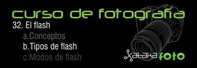 Curso de Fotografía: 32. El flash: Tipos de flash