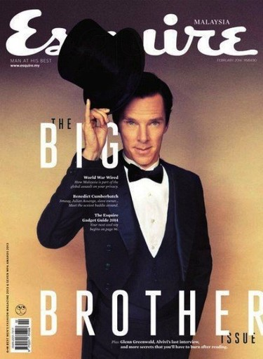 Benedict Cumberbatch, sólo tú luces la chistera como un <em>gentleman</em>