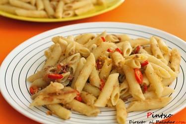 Receta de pasta al pangrattato