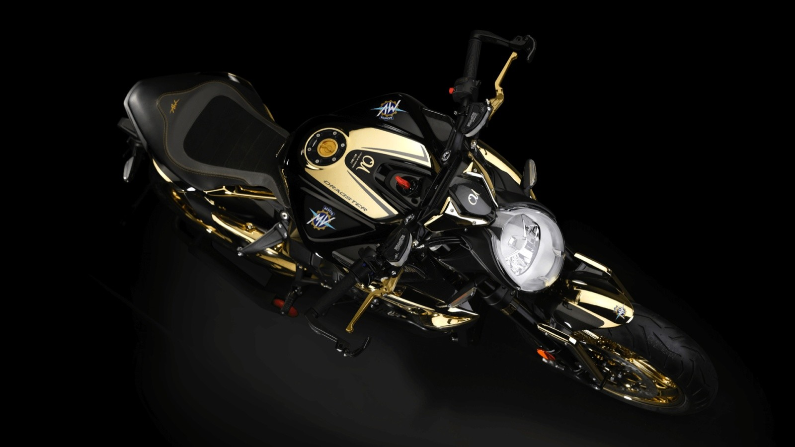 MV Agusta Dragster RC Shining Gold 2019