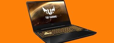 Si buscas un portátil para jugar y trabajar barato, el ASUS TUF Gaming FX505DT está rebajadísimo a poco más de 500 euros en Amazon