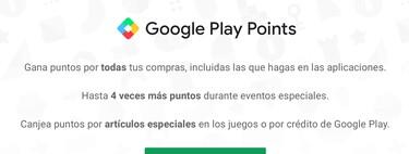 Google Play Points: qué es, cómo apuntarte y qué niveles tiene