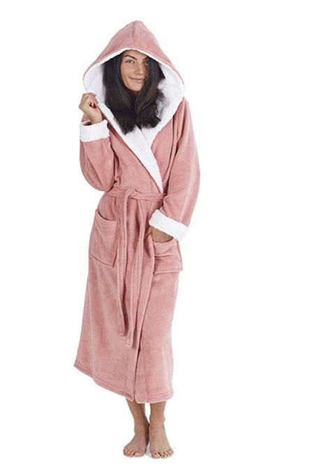 Vestidos De Mujer Bata De Pinguino Buho Vestidos Mujer Batas De Felpa Novedad Animal Hood Super Soft Touch Fleece Batas De Bano Para EllaAnimal Hood Super Soft Touch