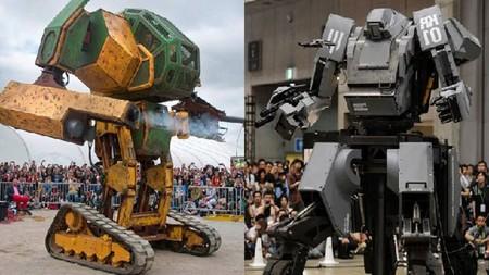 La primera batalla real de robots gigantes entre EEUU y Japón ya tiene fecha: agosto de 2017