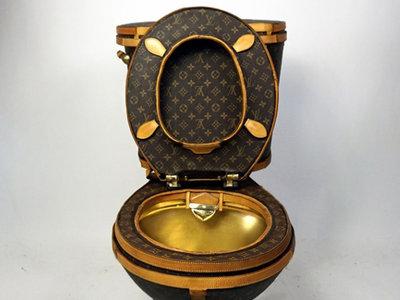 ¿Fan de Louis Vuitton? Quizá este retrete sea la respuesta a todas tus plegarias