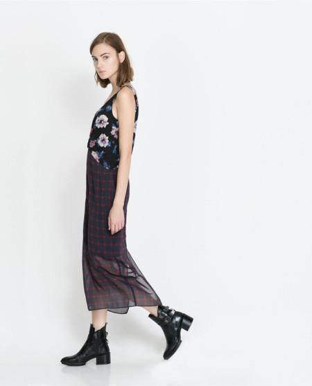 Zara trf vestido