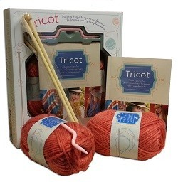 Kit para hacer tricot
