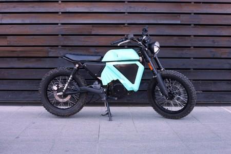 Esta moto eléctrica española está fabricada con piezas en 3D biodegradables y promete 80 km de autonomía