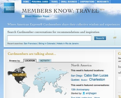 Members Know, la red social de American Express