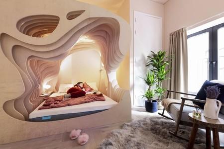Habitación cama útero Londres