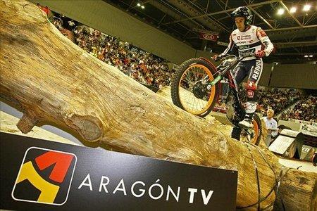 Toni Bou, Campeón de España de Trial Indoor tras la suspensión de la última prueba