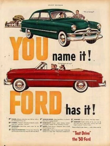 You Name Ford