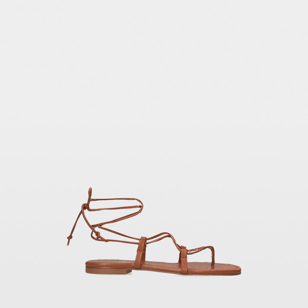 Sandalias estilo romanas marrones