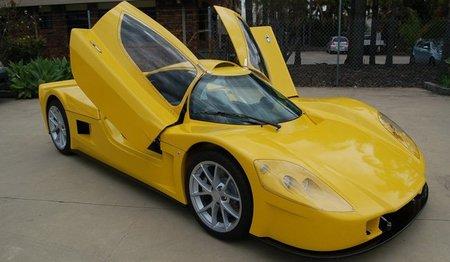 Varley evR450, el primer superdeportivo eléctrico australiano