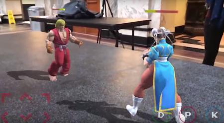 Pronto podrás jugar Street Fighter en realidad aumentada, gracias a ARKit