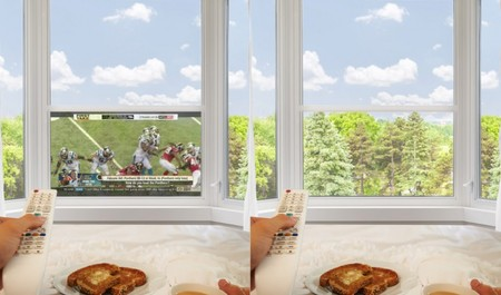 ¿Una tele OLED integrada en las ventanas? Este es el propósito de Window TV