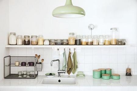 El verde como protagonista de tu cocina, una selección con bellos ejemplos