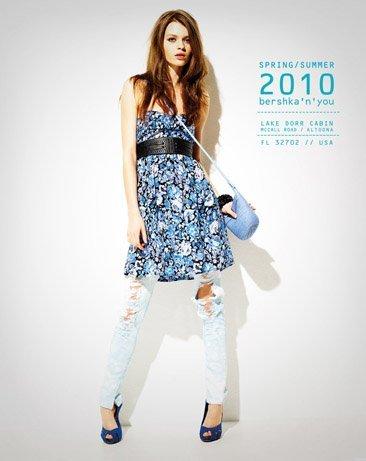 Bershka viste a la mujer joven este verano 2010: lookbook completo con todos los estilos V