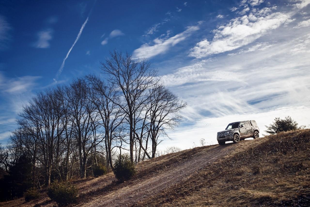 Foto de Land Rover Defender 2020 primeras fotos oficiales (22/24)