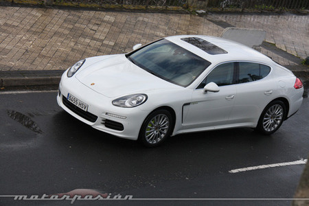 Porsche Panamera S E-Hybrid, prueba (parte 2)